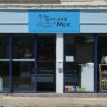 Epicerie de la mer - facade été boutique