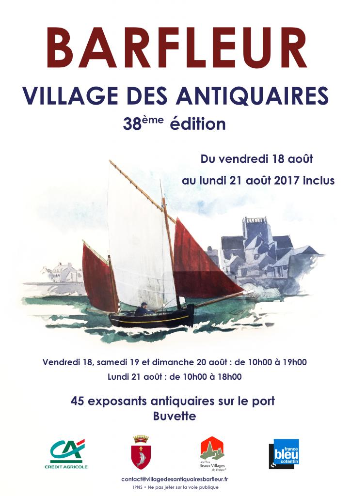 Affiche Village des Antiquaires 2017