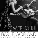 Barfleur Concert Teejay Bar le Goéland 13 juillet 2016