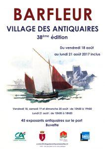 affiche Village des Antiquaires 2017 1024 px