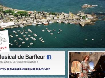 De kaartverkoop voor «l'Été Musical de Barfleur» 2019 is on line !