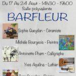Barfleur expo 17 au 24 août 2016
