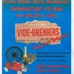 Vide-greniers 15 mai 2016 Ecole Barfleur
