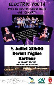 Barfleur concert EYO 8 juillet 2017