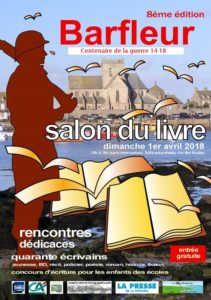 Affiche 2018 du Salon du Livre de Barfleur
