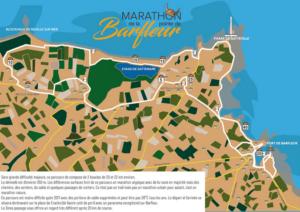 Parcours Marathon Barfleur 2018