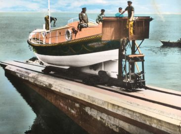 Bezichtiging historische reddingsboot – seizoen 2019